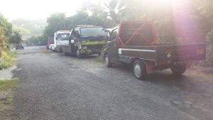 pickup dan towing trcuk